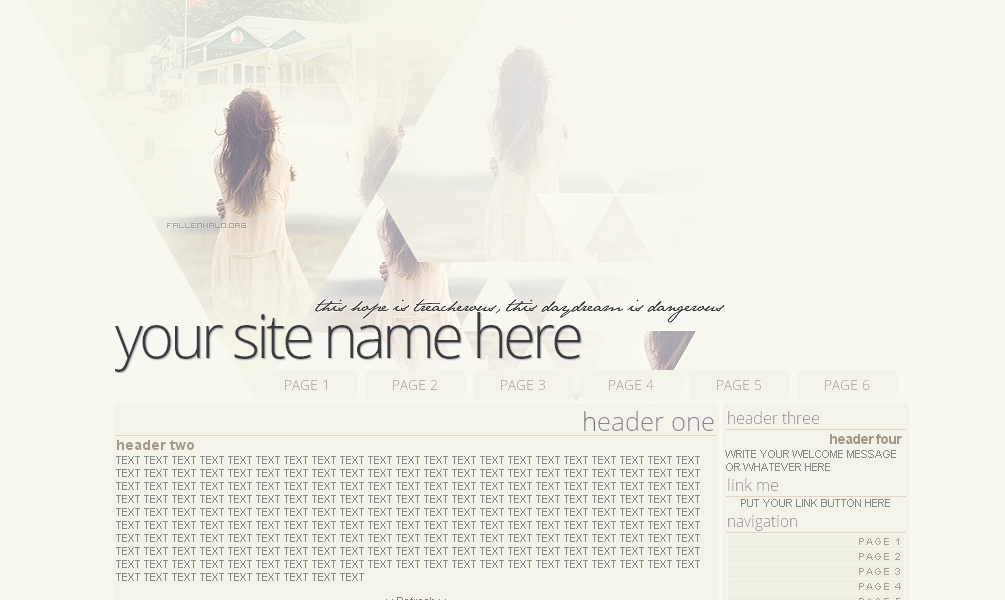 'Treacherous' Domain Layout by FallennHalo