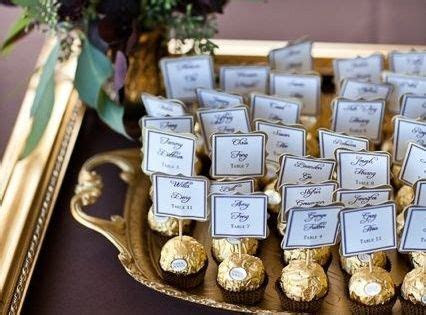 Candy Table Numbers Place Card Holders. I dont like THIS
