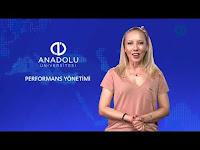 PERFORMANS YÖNETİMİ - Ünite 1 Konu Anlatımı 1 - Açıköğretim Sistemi - Anadolu Üniversitesi