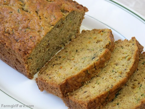 Lemon Rosemary Zucchini Bread (1) - FarmgirlFare.com