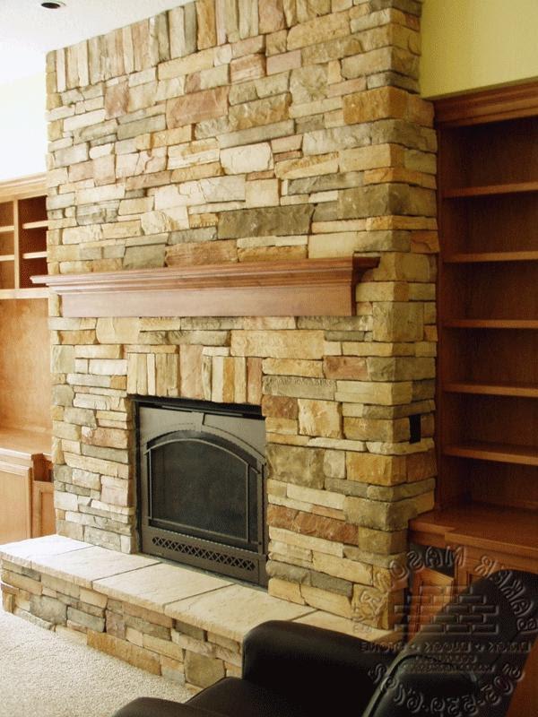 Tv On Fireplace Brick Modern Home Interior Ideas