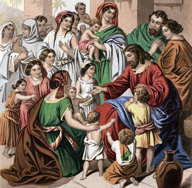 gambar tuhan yesus dengan anak kecil gambar yesus gambar tuhan yesus dengan anak kecil
