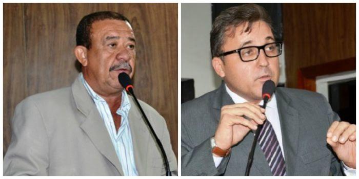 Resultado de imagem para prefeito Robson de Araújo e o vereador Lobão Filho
