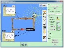 Screenshot of the simulation Circuit Construction Kit (AC+DC)