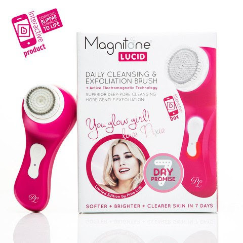 Magnitone Lucid Facial Brush Pink - Limited Edition by Pixie Lott (Travel Size)