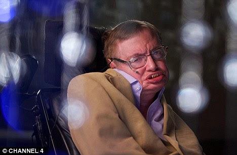 Preocupar-se: Stephen Hawking, alertou que os alienígenas podem Terra pilhagem de seus recursos