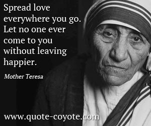 Mother Teresa Quotes Quote Coyote
