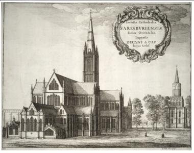 Image result for Salisbury cathedral Hollar