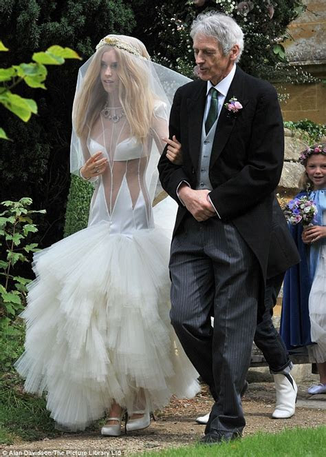 Lady Mary Charteris marries Robbie Furze in creation that
