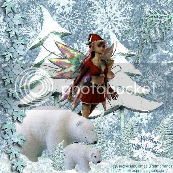Fairies,Fantasy,Winter,Santa