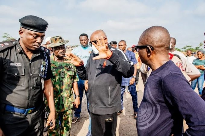 UPDATED: A Vehicle Carrying Explosives Caused The Akure Blast - Akeredolu Speaks
