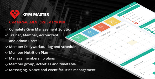 Gym Master v12 - Gym Management System