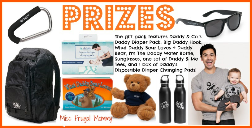 Celeb Daddy Gift Pack Prizes