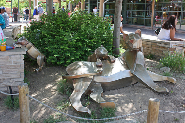 Denver Zoo - sculptures