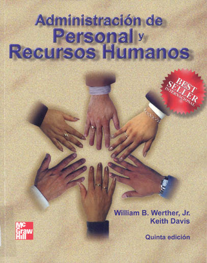 Resultado de imagen para administracion de personal y recursos humanos william b. werther