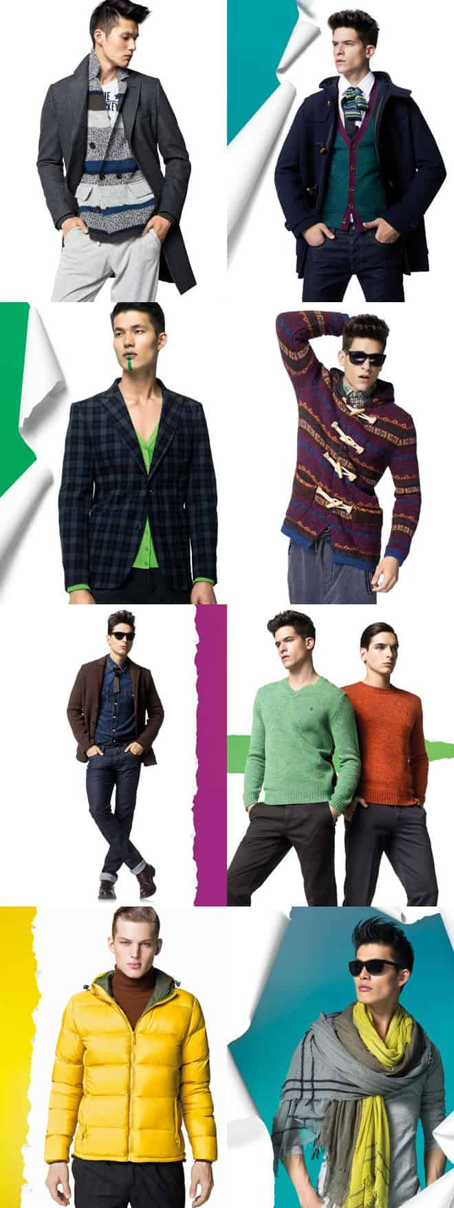 Benetton Clothing AW12 Men's Clothing Campaign