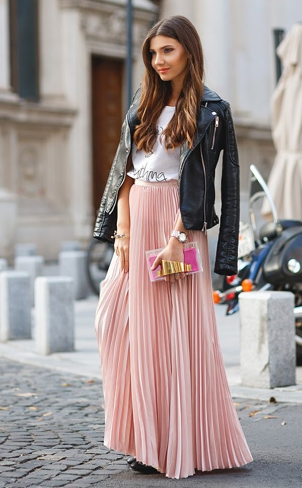 60 different maxi skirt outfits for girls  page 2 of 2