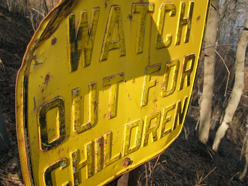 WATCH OUT FOR CHILDREN