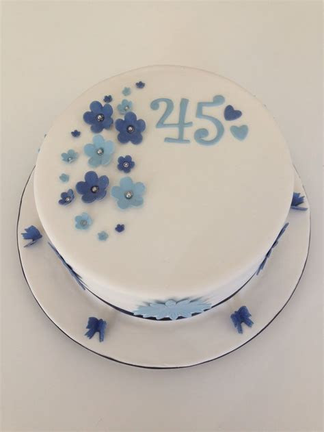 45th wedding anniversary cake   45th Lunch   Pinterest