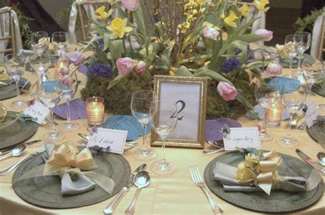 Butterfly Theme Wedding Table Decor
