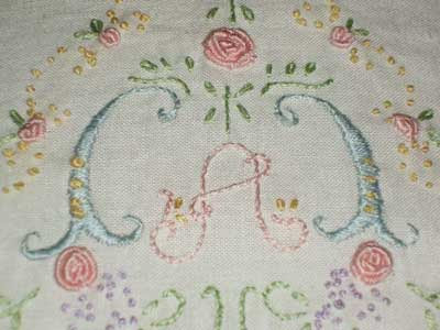 Hand Embroidered Baby Pillowcase – A Kid Did This! – Needle'