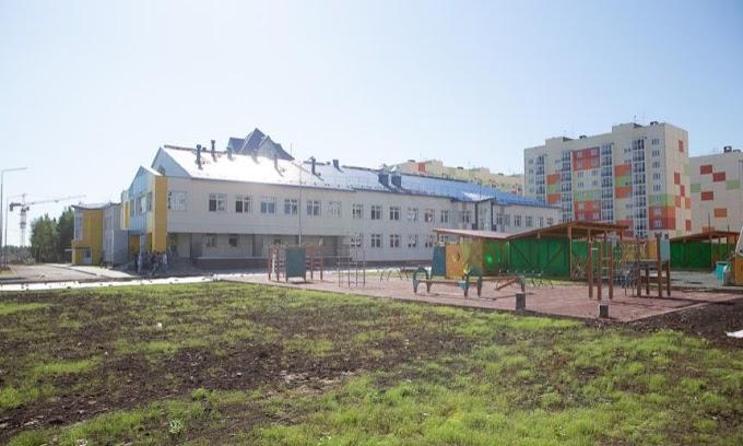 ВАрхангельске завершилось строительство детского сада-долгостроя