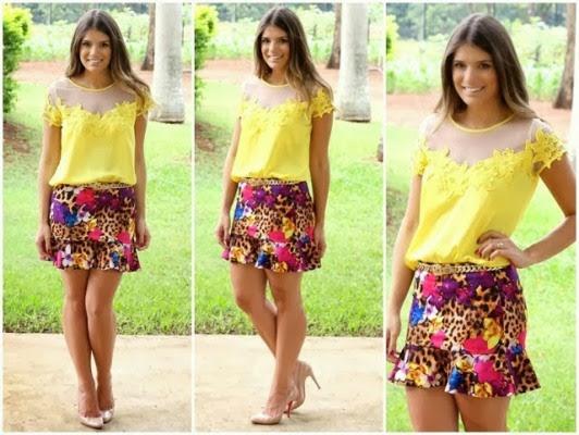 698894 Tendências de blusas femininas para o verão 2015 8 Tendências de blusas femininas para o verão 2015
