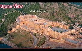 Teen Dost aur Amber Fort : Jaipur Rajasthan   Amer Fort History : Drone Shots . आमेर किले का इतिहास