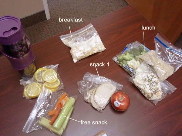 Chelle's Figure Contest Prep Diet - Day 1