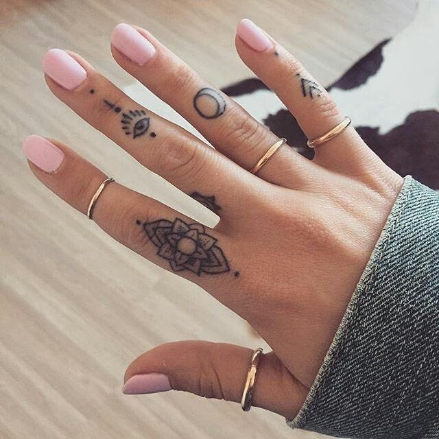 Small Tattoo Designs For Hands For Girls
