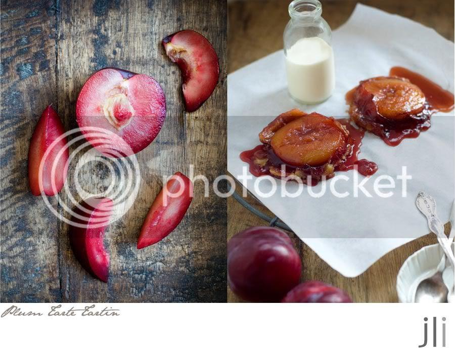 plum tarte tartin
