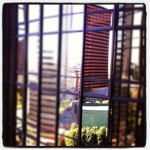 LA Building Windows #2 by stevegarfield