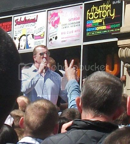 Kev Carroll speaking about Drummer Lee Rigby - click for Flickr