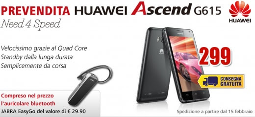 Huawei Ascend G615 Mediaworld