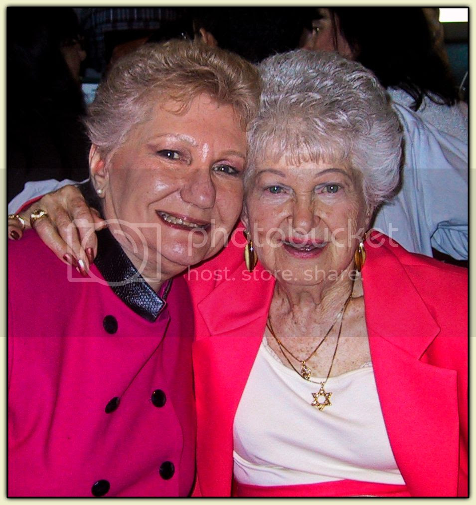 Ceil and Dorothy, April 2002