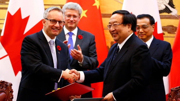 China-Canada agreements
