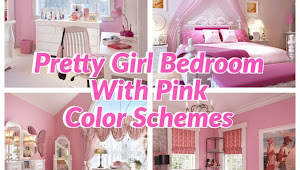 35+ Pinkish Girly Sleeping Accommodation Colouring Schemes That Volition Brand Everything To A Greater Extent Than Joyful