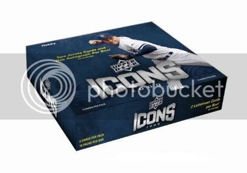 2009 Upper Deck Icons Baseball Box