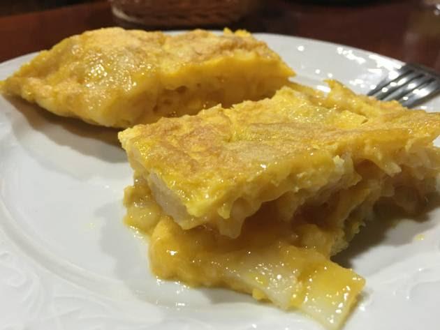 El secreto de la tortilla de Betanzos