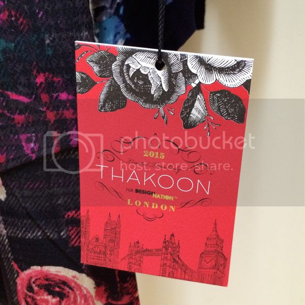 Thakoon for Kohls Hang Tag