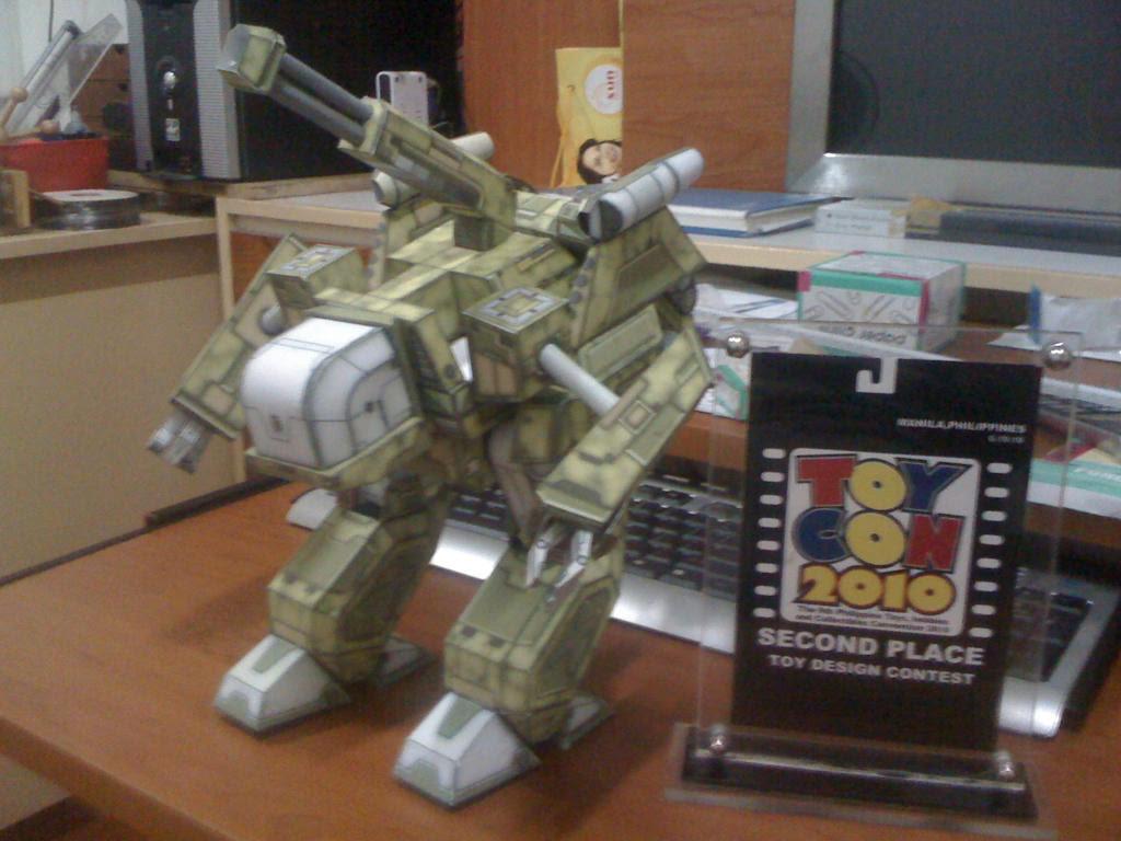 Modular Mechbot Papercraft