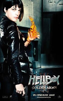 Hellboy II - BPRD Agent Liz Sherman movie poster
