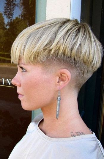Carre Nuque Rasee | Short Hairstyle 2013