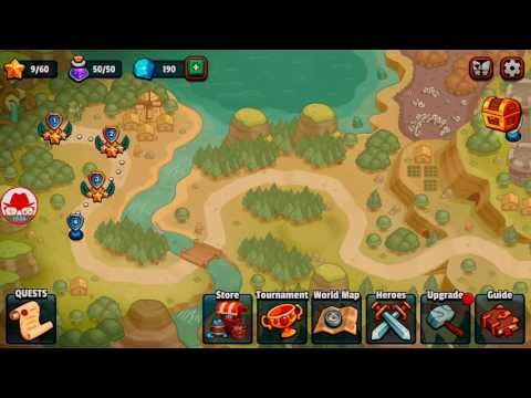 Realm Defense Android Savunma Oyunu GamePlay