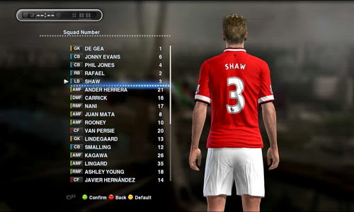 PES 2013 Option File Update 17.08.14 Sun Patch by madn11 Ketuban Jiwa