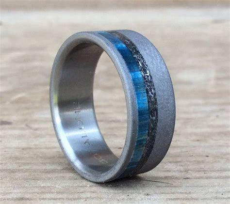 15 Ideas of Men's Wedding Bands Meteorite