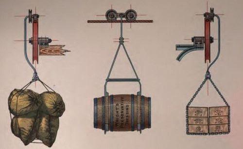 Ropeway receptacles 1