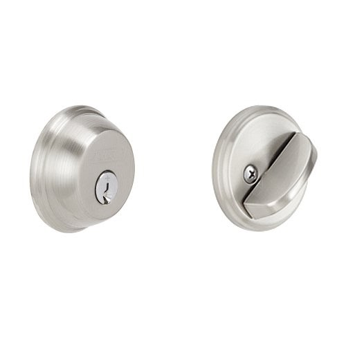 Schlage B60n619 Deadbolt Keyed 1 Side Satin Nickel