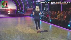 Jessica Athayde sensual no Dança com Estrelas