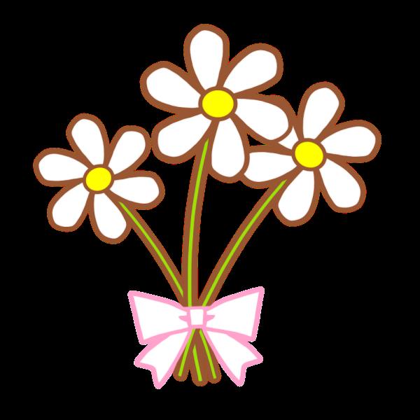 花のイラスト かわいいフリー素材が無料のイラストレイン
